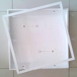 Корпус светильника ЛВО (ЛПО) 4х18 с рамкой